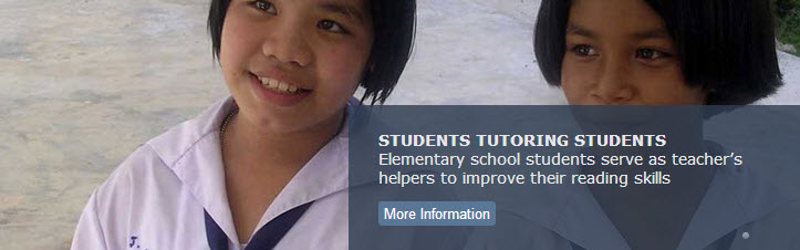 Students Tutoring Students
